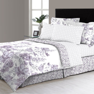 Frieda Floral Complete Bedding Set with Sheets