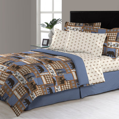 Manitoba Complete Bedding Set with Sheets