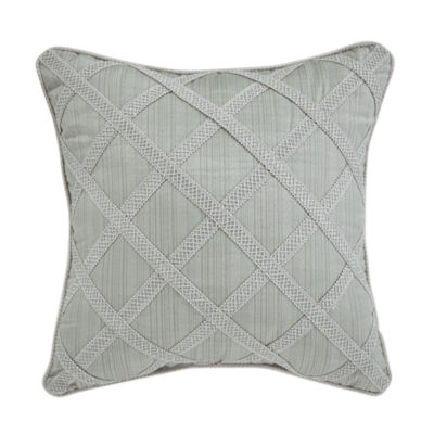 Croscill Classics Caterina 18x18 Square Throw Pillow