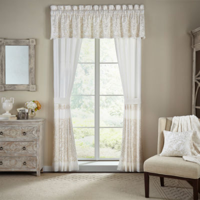 Croscill Classics Cela Rod-Pocket Curtain Panel
