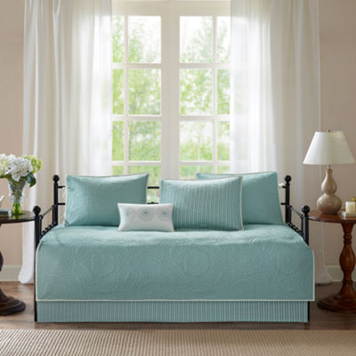 Madison Park Brenna Brushed Microfiber 6-pc. Daybed Cover Set