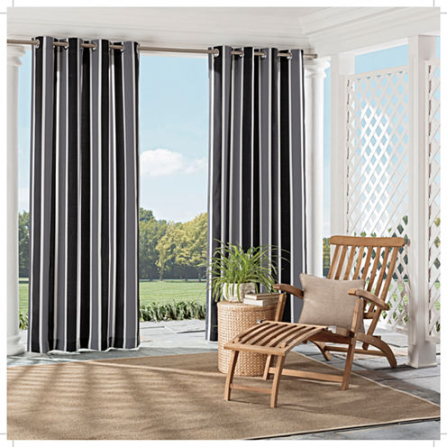 Parasol Coco Bay Grommet-Top Curtain Panel