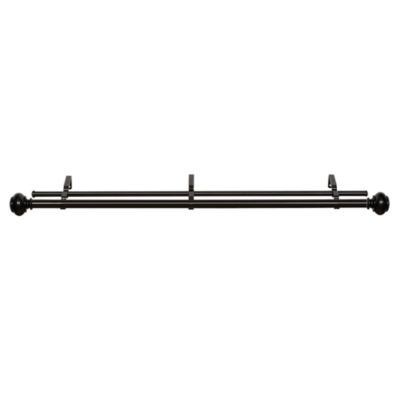 Buono II Brenner Double Curtain Rod