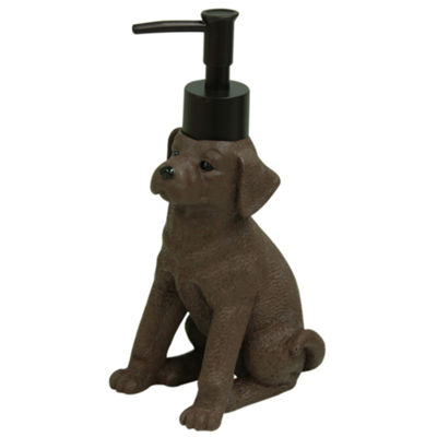 Bacova Guild Woodland Dogs Soap Dispenser