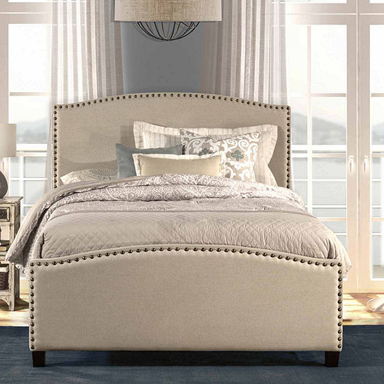 Kerstein Nailhead Detail Bed Set