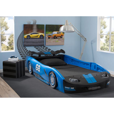 Delta Children Turbo Race Car Twin Bed