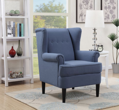 Waller Wingback Accent Arm Chair