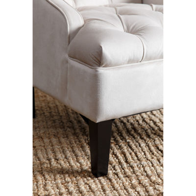Devon & Claire Luna Tufted Swoop Chair