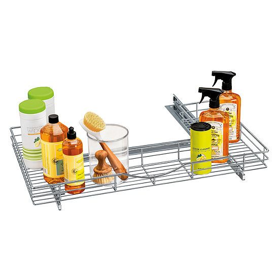 Lynk Professional Roll Out Chrome Cabinet Drawer Sliding Cabinet
