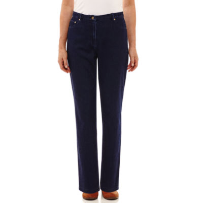 Alfred Dunner Gypsy Moon Knit Flat Front Pants