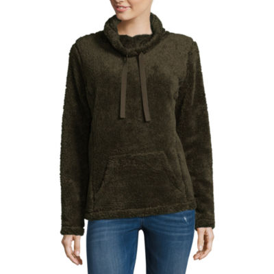 St. John's Bay Active Long Sleeve Cozy Pullover