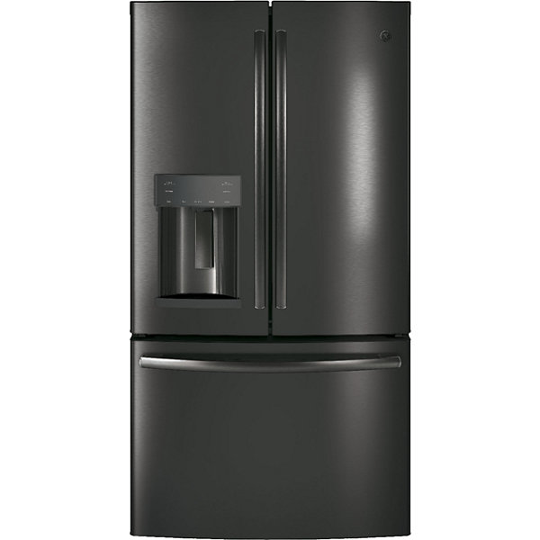 Ge Gfe28gblts Energy Star 27 8 Cu Ft French Door Refrigerator Jcpenney