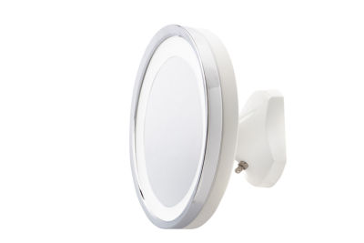 "Jerdon 9"" 5X LED Wall Mirror"