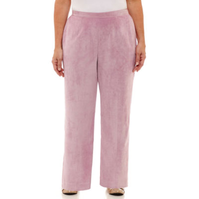 Alfred Dunner Winter Garden Corduroy Classic Fit Pants-Plus Short