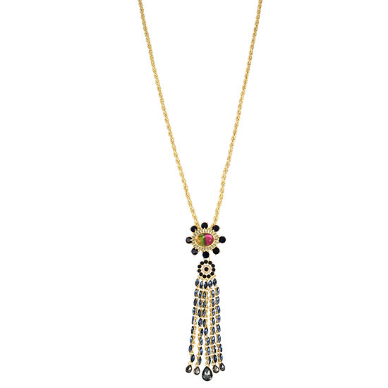 Bijoux Bar Womens Y Necklace
