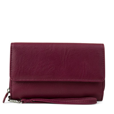 Mundi Better Than Leather RFID Blocking Checkbook Wallet