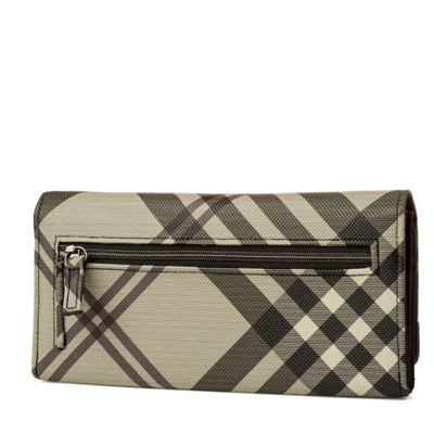 Mundi Filmaster Plaid Shirt RFID Blocking Accordian Wallet