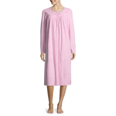 Adonna Microfleece Long Sleeve Nightgown