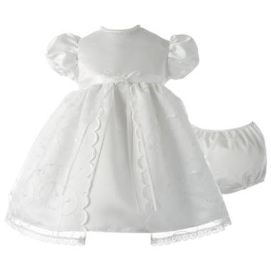 Keepsake Short Sleeve Puffed Sleeve Babydoll Dress Baby