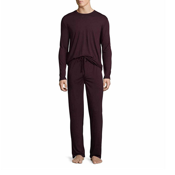 Van Heusen Long Sleeve Knit Pajama Top - Men's