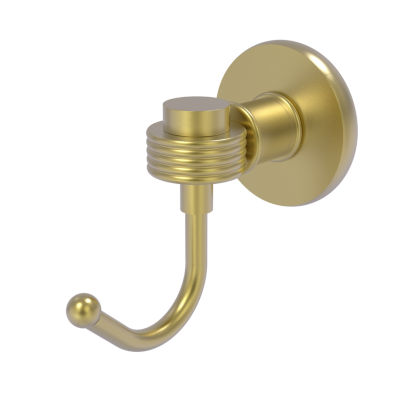 Allied Brass Continental Collection Robe Hook with Groovy Accents