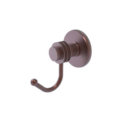 Allied Brass Mercury Collection Robe Hook with Dotted Accents