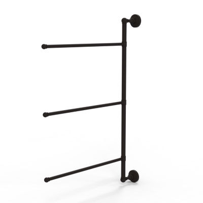 Allied Brass Waverly Place Collection 3 Swing ArmVertical 28 Inch Towel Bar