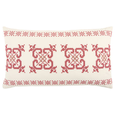 Rizzy Home Ava Geometric Holiday Pillow