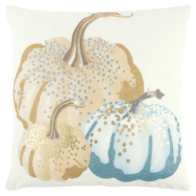 Rizzy Home Elizabeth Pumpkins Holiday Pillow