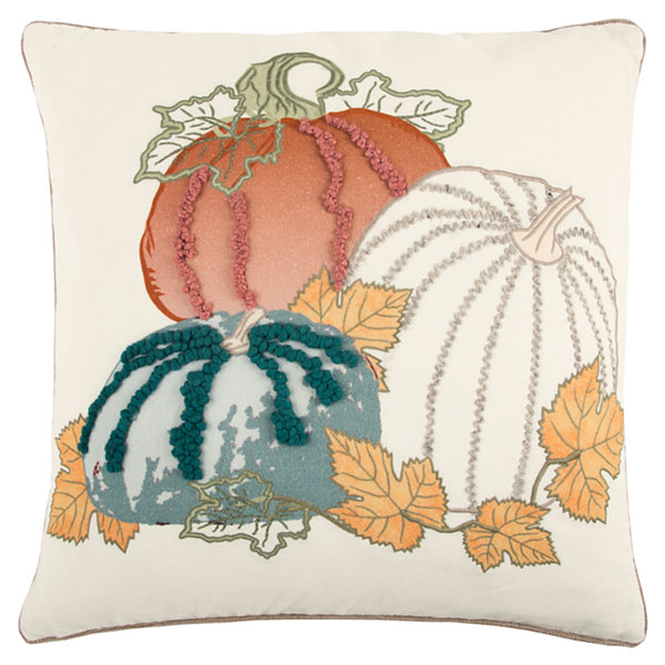 Rizzy Home Victoria Pumpkins Holiday Pillow