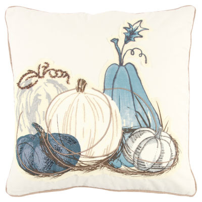Rizzy Home Stella Pumpkins Holiday Pillow