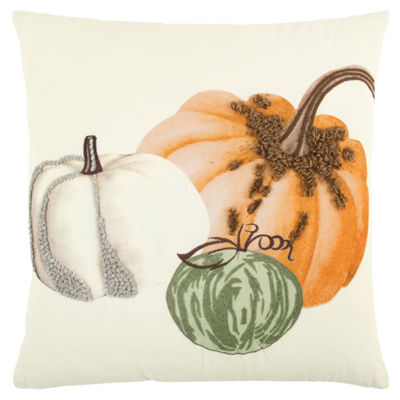 Rizzy Home Savannah Pumpkins Holiday Pillow