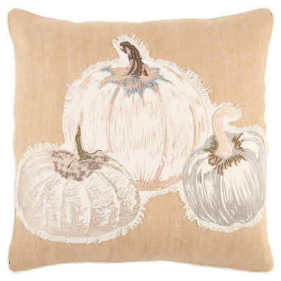 Rizzy Home Paisley Pumpkins Holiday Pillow