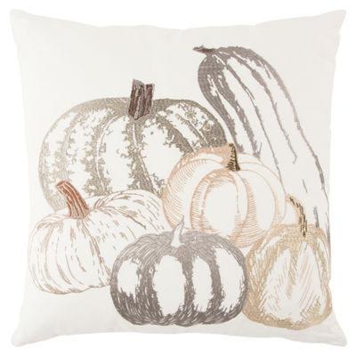 Rizzy Home Brooklyn Fall Pumpkin Holiday Pillow