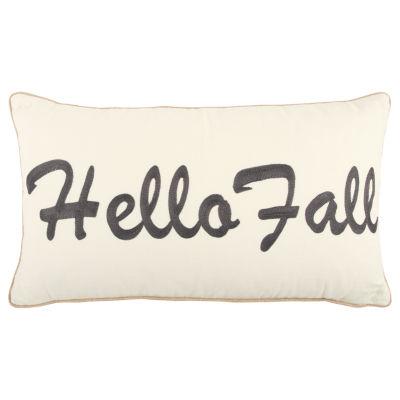 Rizzy Home Noah Hello Fall Holiday Pillow