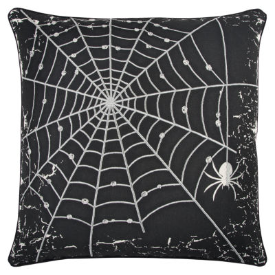 """Rizzy Home """"Happy Halloween"""" Pillow"""