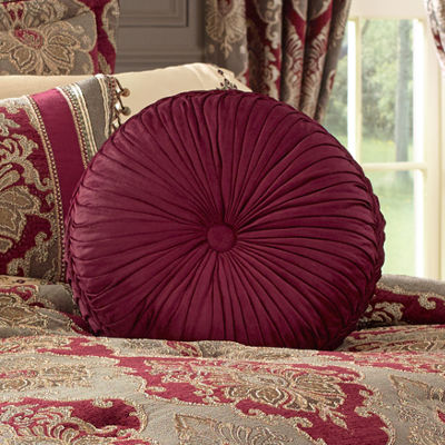 Queen Street Celine Tufted Round Throw Pillow
