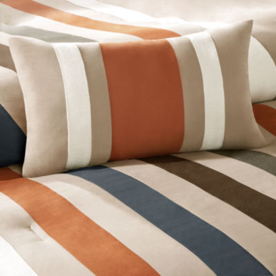 Mi Zone Landon Striped Comforter Set