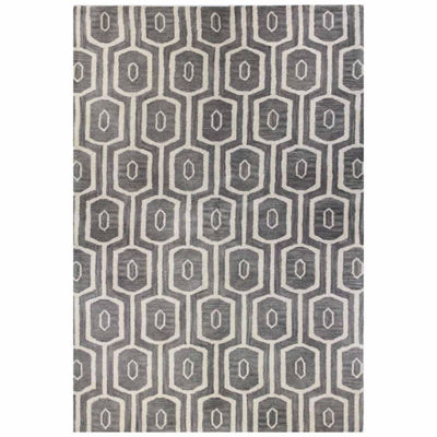 Montclair 100% Wool Hand Tufted Area Rug