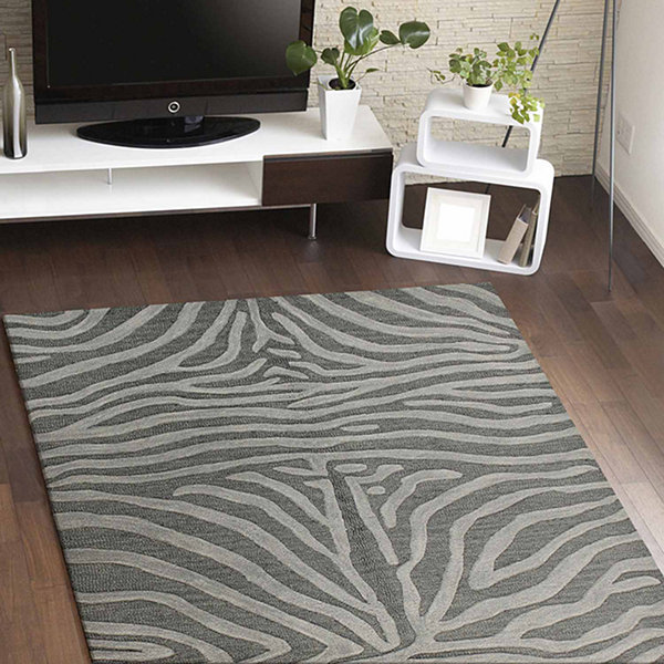 Mystic 100% Wool Hand Tufted Area Rug