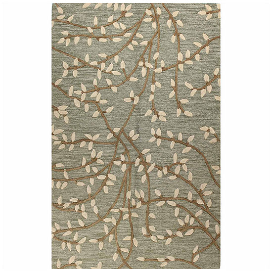 SALEM 100% WOOL HAND TUFTED AREA RUG