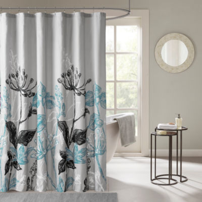 Ashby Printed Shower Curtain - JCPenney