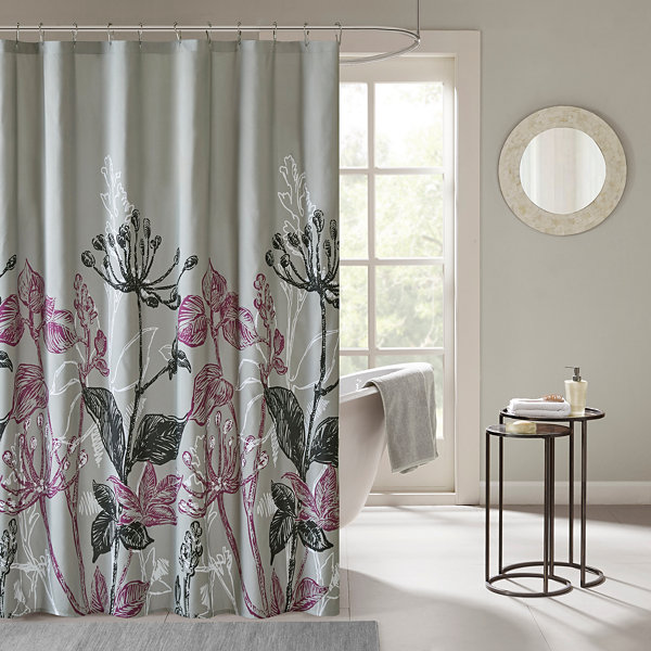 Nicolette Printed Shower Curtain