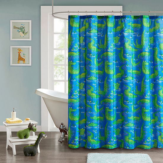 Later Alligator Shower Curtain