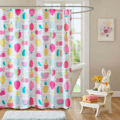 Water Melly Cotton Shower Curtain