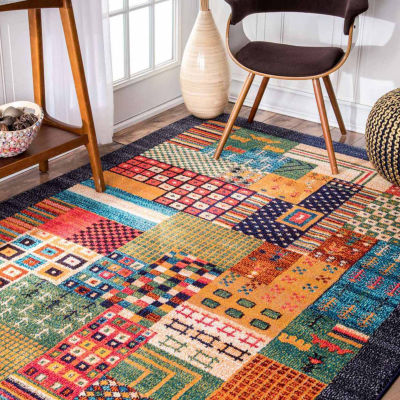 nuLoom Weldon Tribal Patchwork Rug
