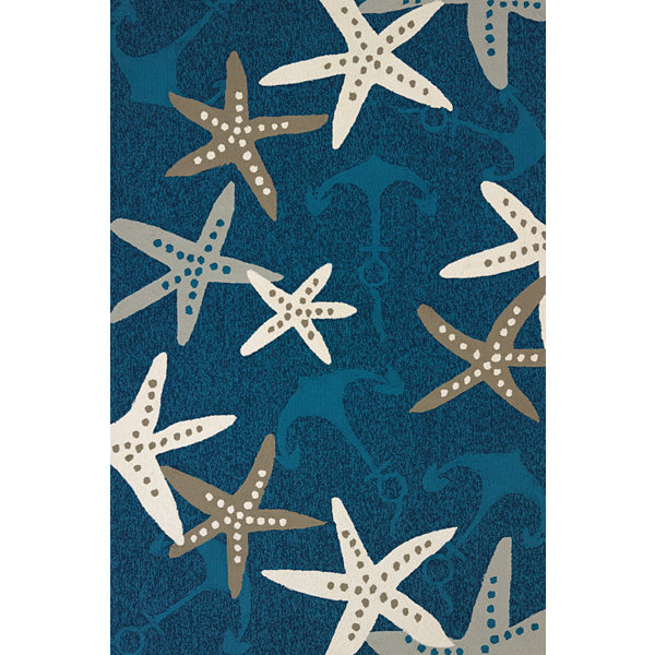 United Weavers Atrium Collection Anchors Away Rectangular Rug