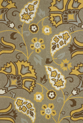 United Weavers Atrium Collection Buttercup Rectangular Rug