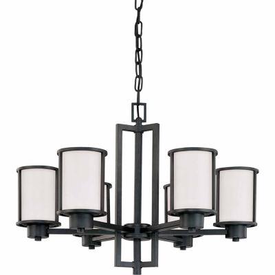 Filament Design 6-Light Aged Bronze Chandelier