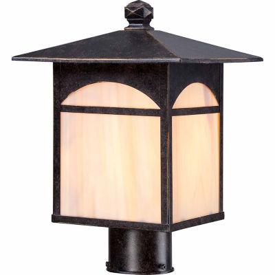 Filament Design 1-Light Umber Bronze Outdoor PostLight